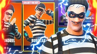 New BANK ROBBER FREE Skins Bundle! New Fortnite Battle Royale Skins Update! (New Fortnite Skins)
