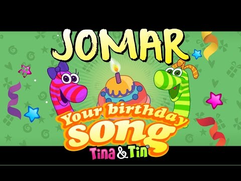 Tina&Tin Happy Birthday JOMAR (Personalized Songs For Kids) #PersonalizedSongs Mp3