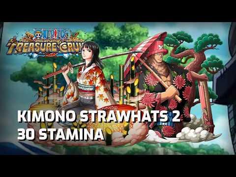 [OPTC] Lightning Speed! Straw Hat Pirates: Poetry in motion - 30 Stamina (F2P)