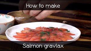 How to make salmon gravlax - Pieter de Jager