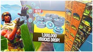 The 1 MILLION VBucks DROP! - Fortnite Quiz for 1,000,000 VBucks!