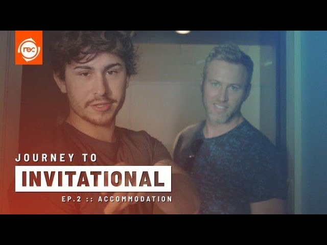 Journey to Invitational - REC in Japan Episode 2: Accomodation