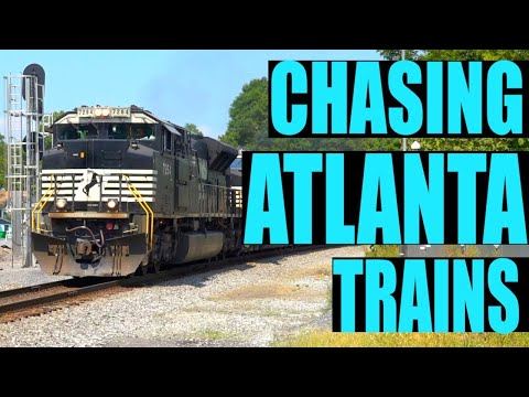Atlanta Railfanning Part One -   North Side