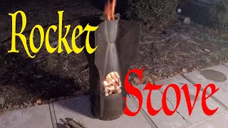 The Bomb Rocket Stove (Time Lapse)