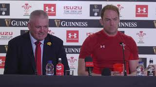 Press Conference: Gatland and Jones after victory over England | Guinness Six Nations