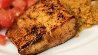 Blackened Fish Recipe -- easy spicy fish dish