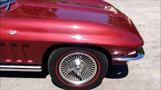 Beautiful Matching Numbers 1965 Corvette Coupe L76 For Sale!
