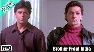 Download Brother From India - Movie Scene - Kabhi Khushi Kabhie Gham - Shahrukh, Kareena, Hrithik