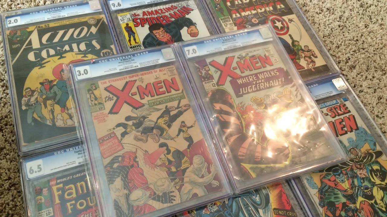 Download Year End Comic Book Haul - Box 2 - Sweet CGC Slabs and Wonder Woman!