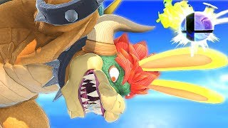 What Will Happen if Giga Bowser Uses His Final Smash in Super Smash Bros Ultimate? Glitches & More
