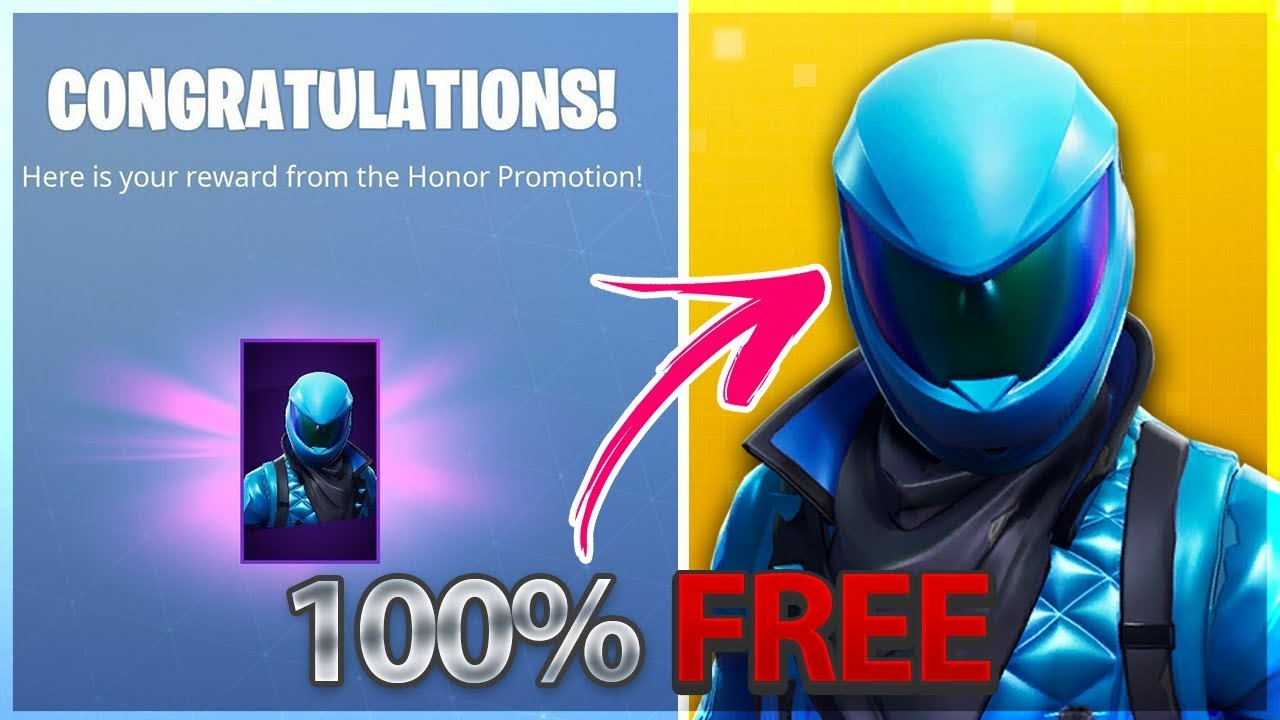 How People got the HONOR GUARD Skin For 100% Free In