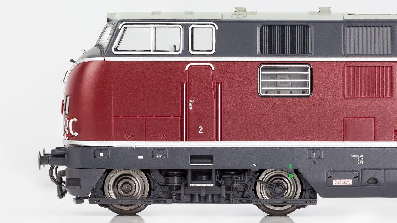 Piko V 200.1 / DB BR 221 Detailbilder auch von innen in 4K! - YouTube