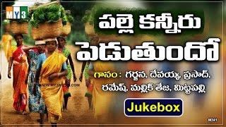 Telangana Janapada Geethalu In Telugu - Palle Kanneru Peduthundo - Super Hit Telugu Folk Songs