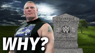 Why WWE Universal Title Is Officially Finished