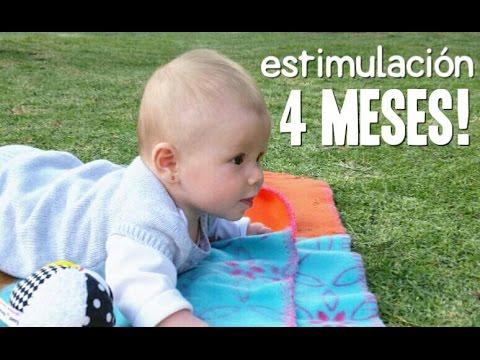 Actividades beb 4 meses estimulaci n temprana youtube - Juguetes para ninos 10 meses ...