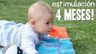 Actividades Bebé 4 meses - Estimulación Temprana