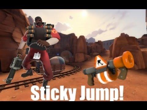 Tutorial de Sticky Jump basico -TF2