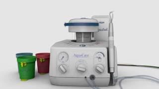 aquaCare - стоматологическая водно-абразивная система  Velopex (Великобритания)