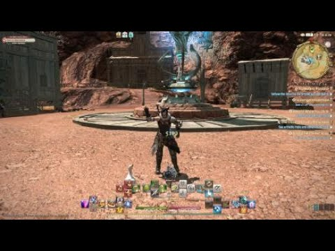 FINAL FANTASY XIV Cross hotbar Tutorial para jugar con mando