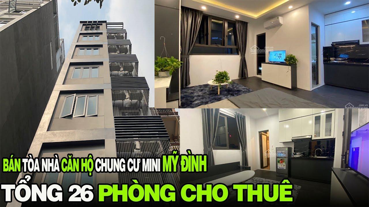 image Bán Tòa Căn Hộ CCMINI 26 Phòng Cho Thuê 8T*Mt5m ( cho thuê đạt 1 Thang ) 0338624444