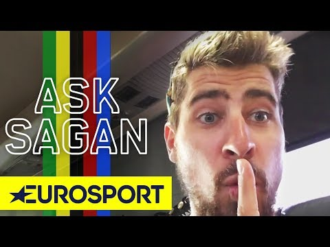 Does Peter Sagan Ride Faster With Cheering Fans? | Ask Sagan | Tour de France 2018