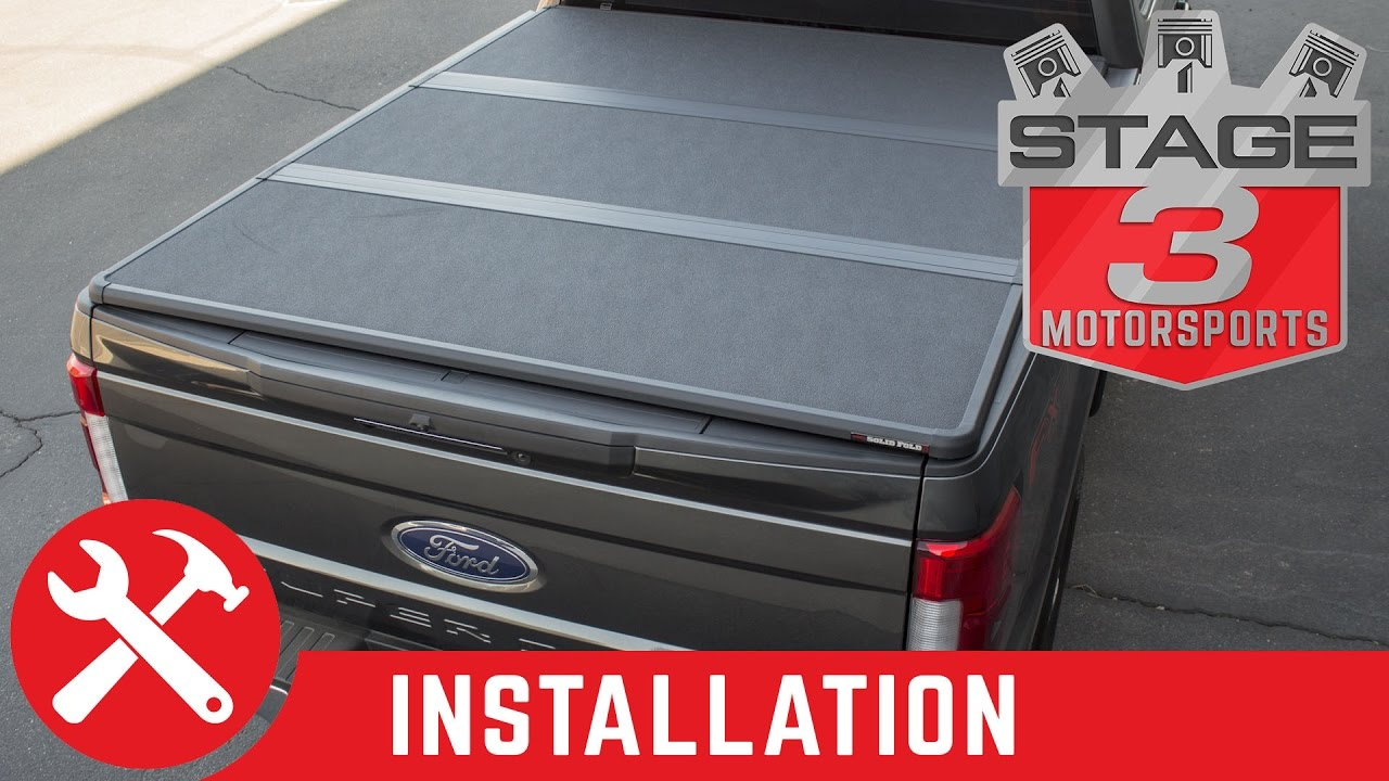 Tundra Tonneau Cover >> 2017 F250 & F350 Extang Solid Fold 2.0 Tonneau Cover Install - YouTube