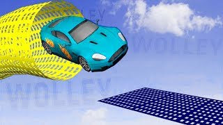 Xtreme Rooftop Free Car Stunts Racing - Android Gameplay HD - GTA V Racing Simulation Games For Kids