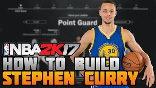 how to build stephen curry on nba 2k17 best point guard build ever mycareer