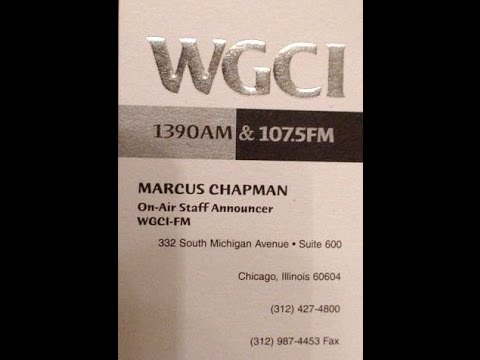 Jan 1, 2003 Top Hits of 2002 Countdown MC Marcus Chapman WGCI Chicago