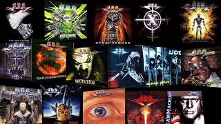 U.D.O. : ranking all 16 studio albums !