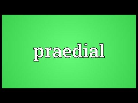 Header of praedial