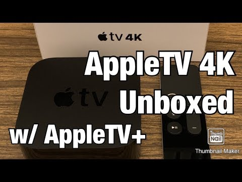 Unboxing AppleTV and AppleTV+