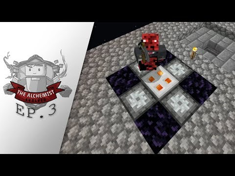 The Alchemist Evolved: Episode 3 - MINERAL EXTRACTOR AND NETHER
