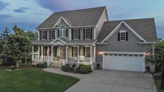 Farmhouse Style Custom Home Tour - Home For Sale in Elburn IL