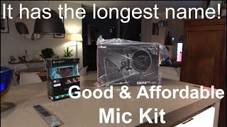 Trust Emita GXT 252+, A Good and Affordable Mic Kit!