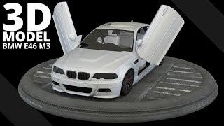 BMW E46 M3 -- 3D Model | Tlatso-Son