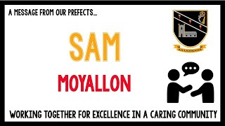 Message from Year 10 pupil - Sam