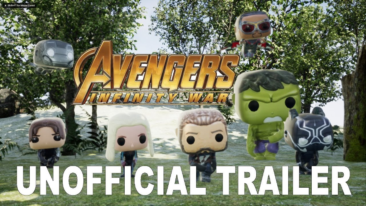 Marvel POP Avengers: Infinity War UNOfficial Trailer FUNKO POP!