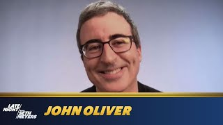 John Oliver Literally Blew Up the Year 2020