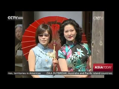 Traditional Dress: Qipao Gets Popular In Shanghai
