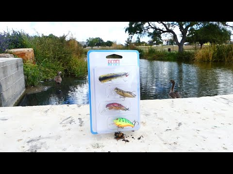 Rebel Critters Will Catch You Fish! Success!   Walmart Fishing Kit