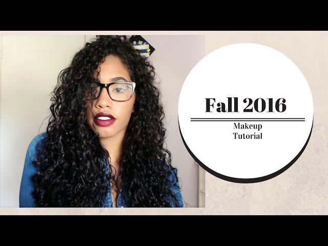 Fall Makeup Tutorial 2016