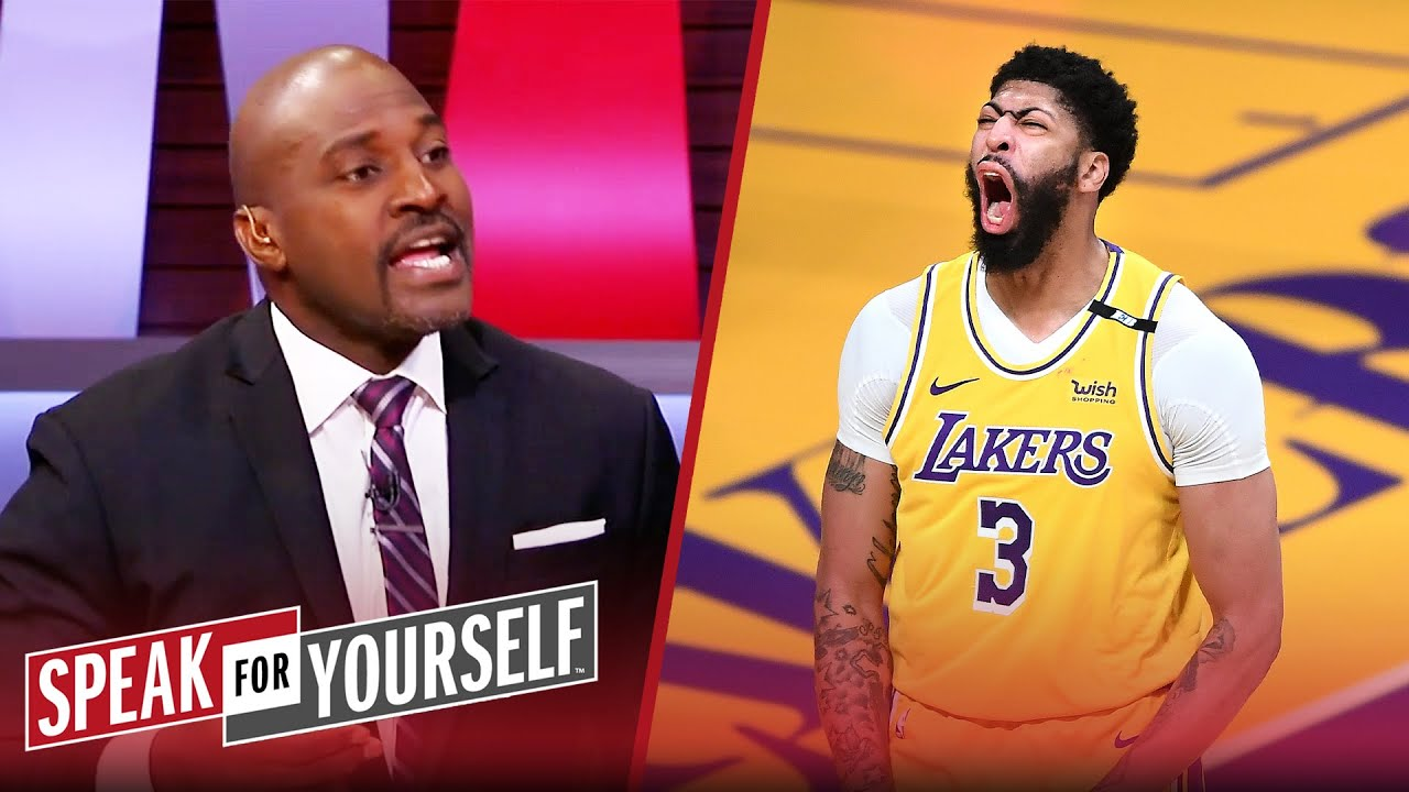 The Lakers' age won't be a problem with AD in his prime - Wiley I NBA I SPEAK FOR YOURSELF