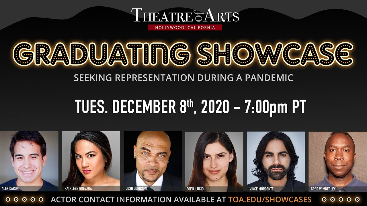 December 2020 Graduating Actor Showcase