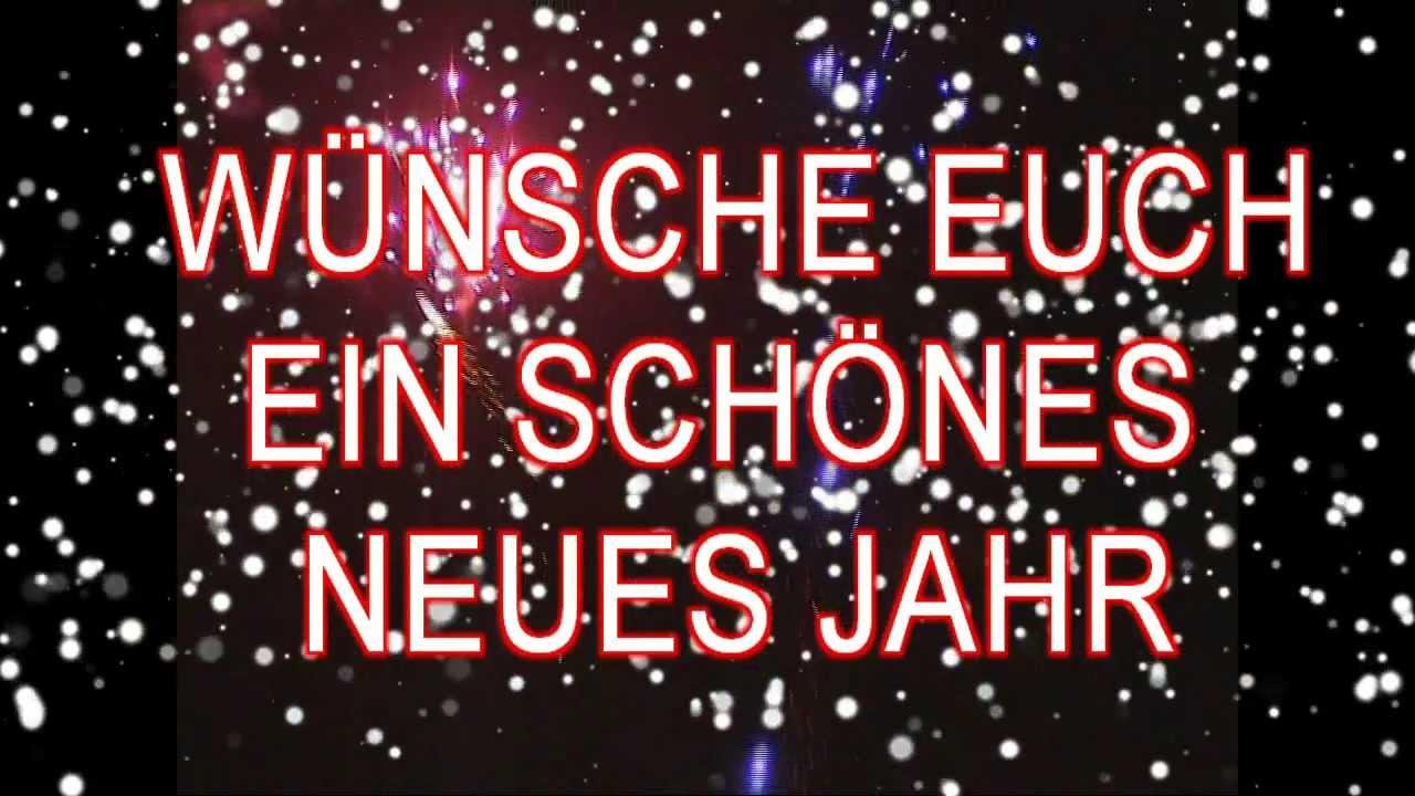 Sprüche zu Neujahr 2019: Wünsche Euch ein schönes neues Jahr! - YouTube
