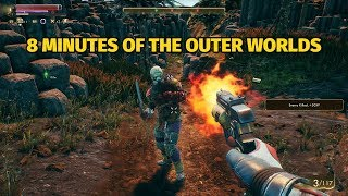 8 Minutes of The Outer Worlds Gameplay