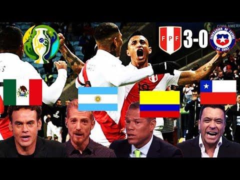ASÍ INFORMÓ LATINOAMÉRICA LA GOLEADA DE PERÚ (3-0) CHILE COPA AMÉRICA 2019