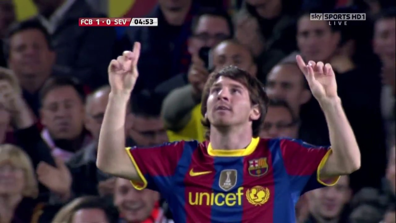 FC Barcelona VS Sevilla 5 0 All Goals HD Chawali 30/10/2010 - YouTube