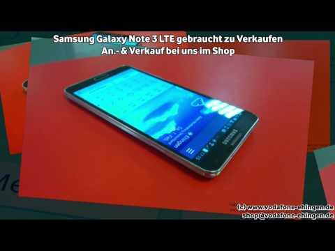 Samsung Galaxy Note 3 LTE gebraucht zu Verkaufen