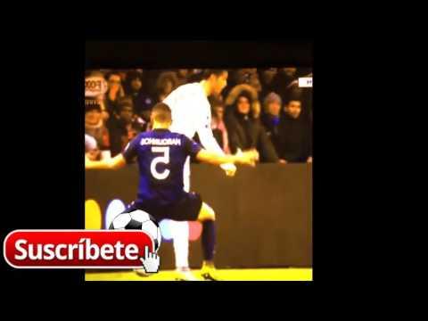 Cristiano Ronaldo Skill vs Marquinhos - PSG vs REAL MADRID 2015 UEFA CHAMPIONS LEAGUE